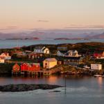 Norvegian remote village