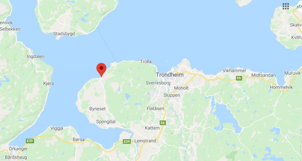 Rye location in Norway