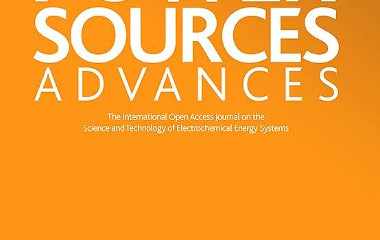 Publication on Journal of Power Sources